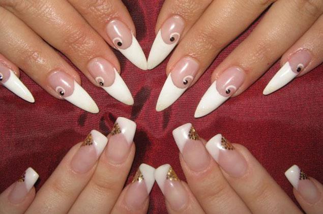 Наращивание ногтей в Спасск-Дальнем, гелем и акрилом